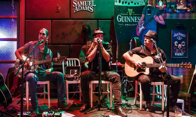 Dov Hammer's Blues power (acoustic trio)