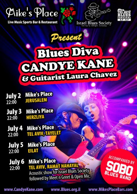 Candye Kane & guitarist Laura Chaves